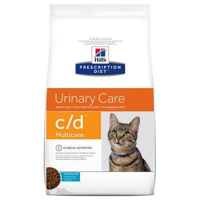 Hill's c/d Multicare Prescription Diet Feline Pesce Oceanico - secco