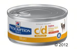 Hill's c/d Prescription Diet Feline umido
