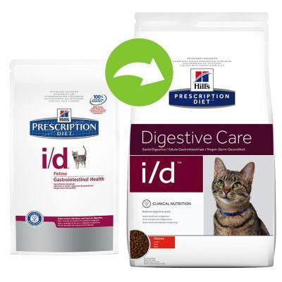 Hill's i/d Digestive Care Prescription Diet Feline - secco
