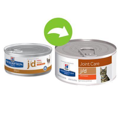 Hill's j/d Prescription Diet Feline Joint Care umido