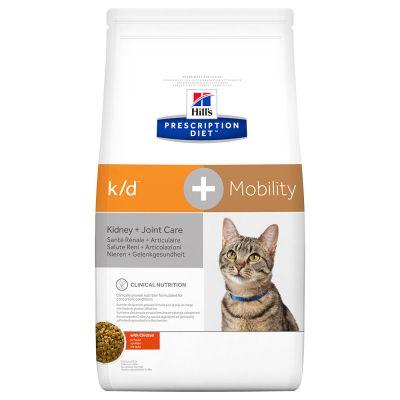 Hill's k/d+Mobility Prescription Diet Feline - secco