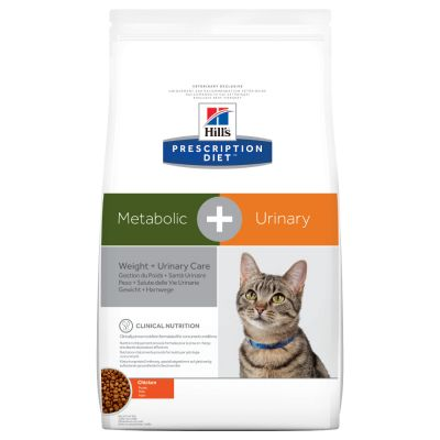 Hill's Metabolic + Urinary Prescription Diet Feline secco