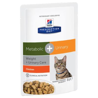 Hill's Metabolic + Urinary Prescription Diet Feline umido