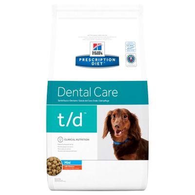 Hill's Prescription Diet Canine t/d Mini secco