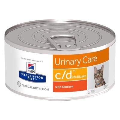 Hill's Prescription Diet c/d Urinary Care Multicare pour chat