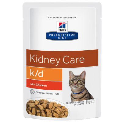 Hill's Prescription Diet Feline K/D Pouch - Renal Health