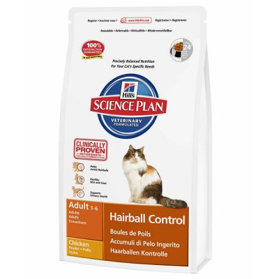 Hill's Science Plan Feline Hairball Control Adult pour chat