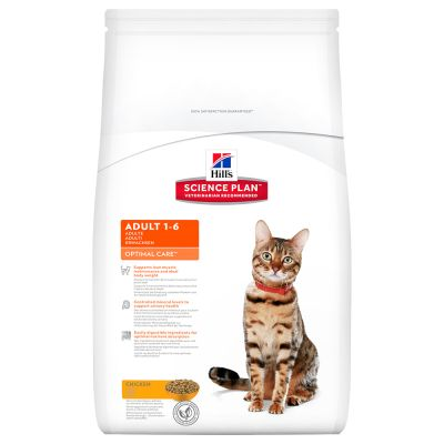 Hill's Science Plan Feline Optimal Care Pollo