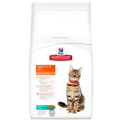 Hill's Science Plan Feline Optimal Care Tonno