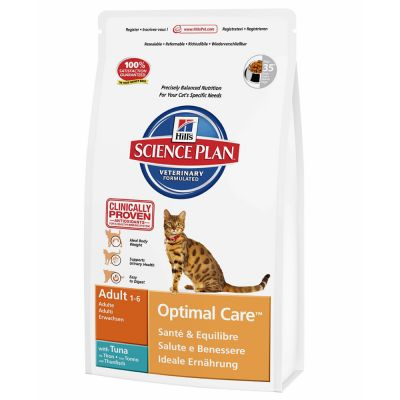 Hill's Science Plan Feline Optimal Care Tonno