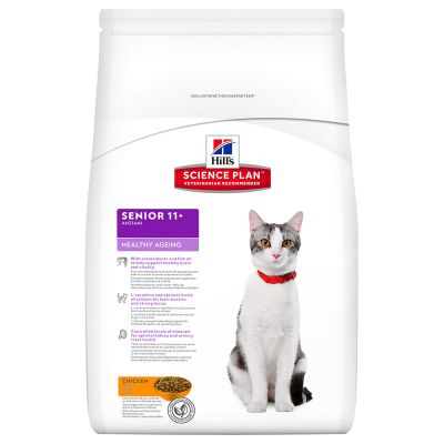 Hill's Science Plan Feline Senior Healthy Ageing  11+ pour chat