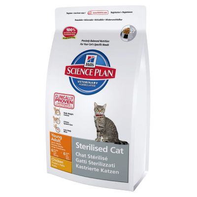 Hill's Science Plan Feline Sterilised Cat Young Adult Pollo