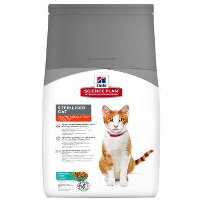 Hill's Science Plan Feline Sterilised Cat Young Adult Tonno