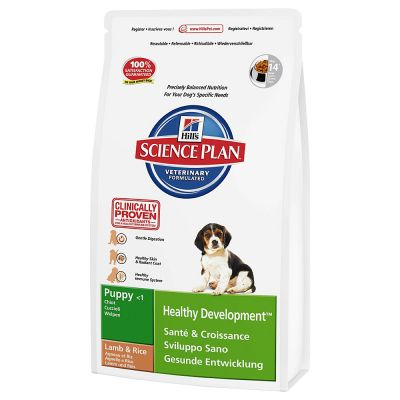 Hill's Science Plan Puppy Healthy Development - Lam & Rijst