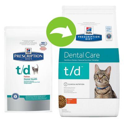 Hill's t/d Prescription Diet Feline - secco