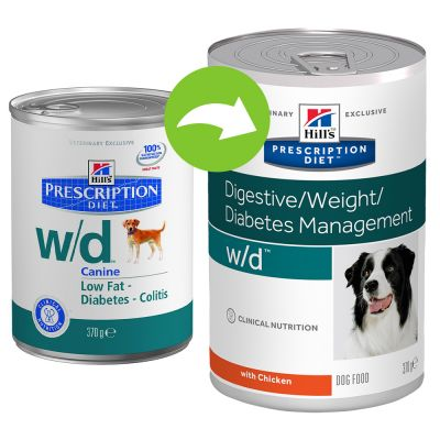 Hill's w/d Prescription Diet Canine umido