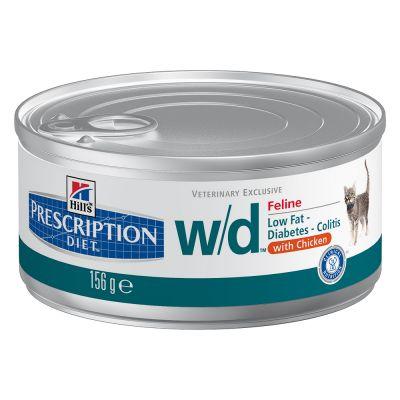 Hill's w/d Prescription Diet Feline umido