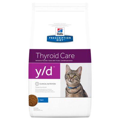 Hill's y/d Prescription Diet Feline - secco