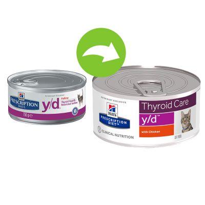 Hill's y/d Prescription Diet Feline umido