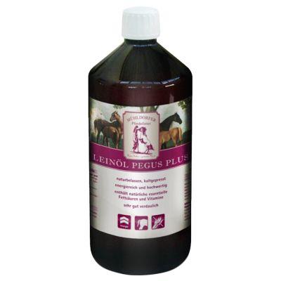 huile de lin pour cheval m hldorfer pegus plus prix avantageux chez zooplus. Black Bedroom Furniture Sets. Home Design Ideas