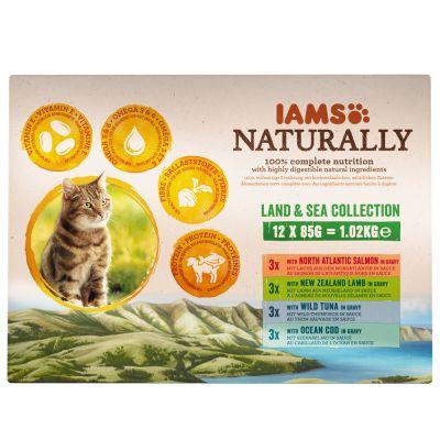IAMS Naturally Cat Adult Mix Kattenvoer