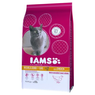 Iams Proactive Health Mature Amp Senior Chicken Dry Cat Food