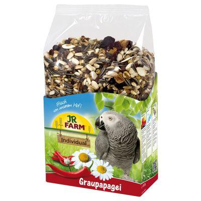 JR Farm Individual per pappagalli africani grigi