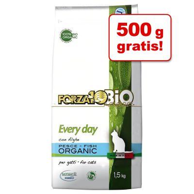 4 kg + 500 g gratis! 4,5 kg Forza 10 Bio Every Day al Pesce e Alghe