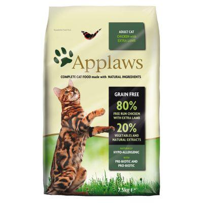 6 kg / 7,5 kg Applaws + 8 x 60 g Cat Pot Selection gratis!
