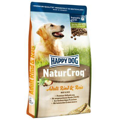 15 kg + 3 kg gratis! 18 kg Happy Dog NaturCroq
