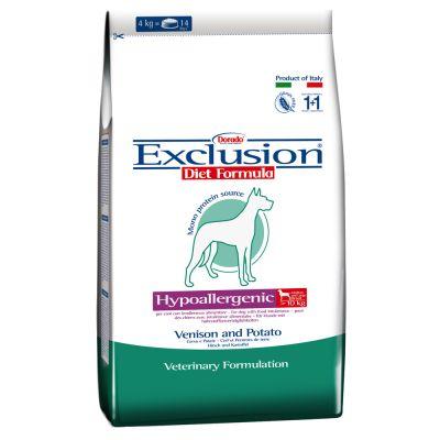 12,5 kg Exclusion Diet + Ciotola in acciaio gratis!