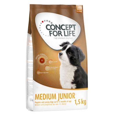 12 + 3 kg gratis! 15 kg Concept for Life