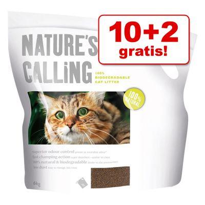 10 + 2 kg gratis! 12 kg Lettiera Applaws Nature´s Calling
