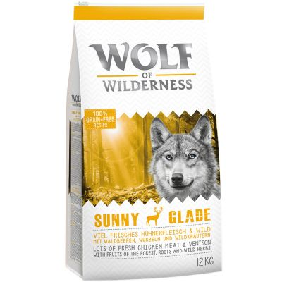 12 + 2 kg gratis! 14 kg Wolf of Wilderness