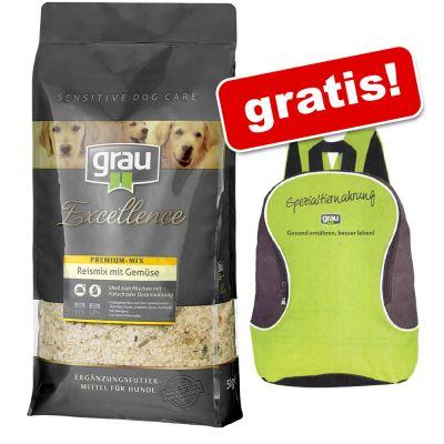 5 kg Grau + Zaino Grau gratis!