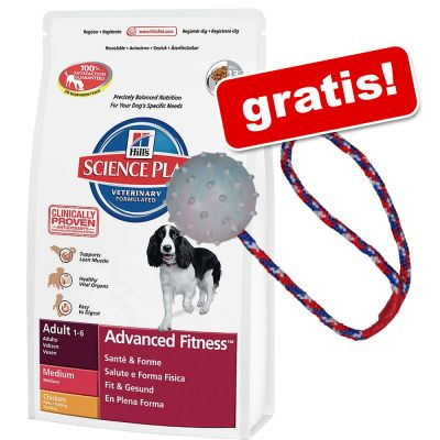 12 kg Hill's Science Plan + Palla con corda gratis!