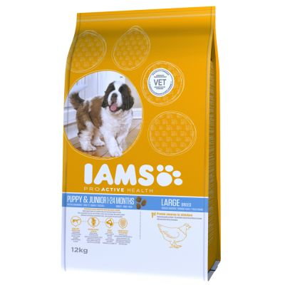 12kg Iams Proactive Health Dry Dog Food - Up to 30% Off RRP!*