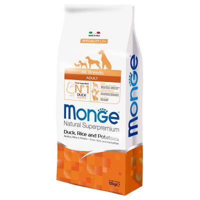 12 kg Monge + 200 g Mini ossi Chewies gratis!