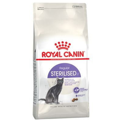 2 kg Royal Canin Sterilised 37 + 400 g Concept for Life und 300 g Hill's