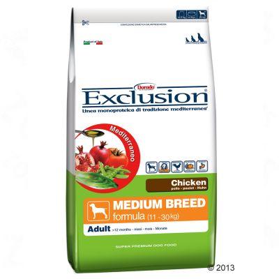 Kombipaket: Exclusion Mediterraneo + 6 x 400 g Nassfutter