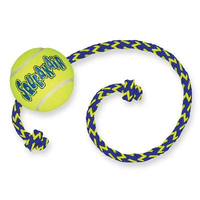 Kong SqueakAir Palla con corda