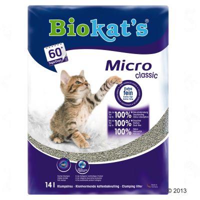 Lettiera Biokat's Micro