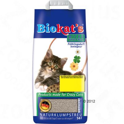 Lettiera Biokat's Micro White Fresh