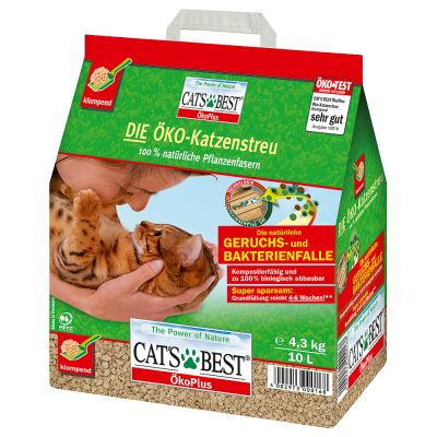 Lettiera Cat's Best Eco Plus - formato prova