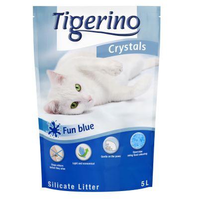 Lettiera colorata Tigerino Crystals Fun