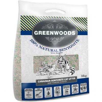 Lettiera in argilla naturale Greenwoods con zeoliti