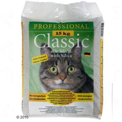 Lettiera Professional Classic con silicio