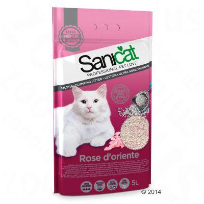 Lettiera Sanicat Rose d'Oriente