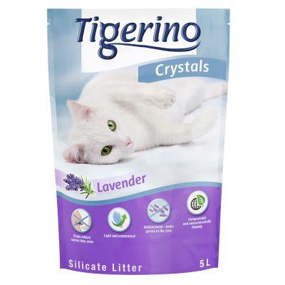 Lettiera Tigerino Crystals Lavanda