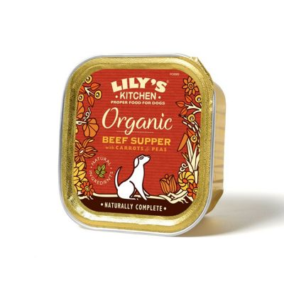 Lily's Kitchen Organic Beef Supper for Dogs